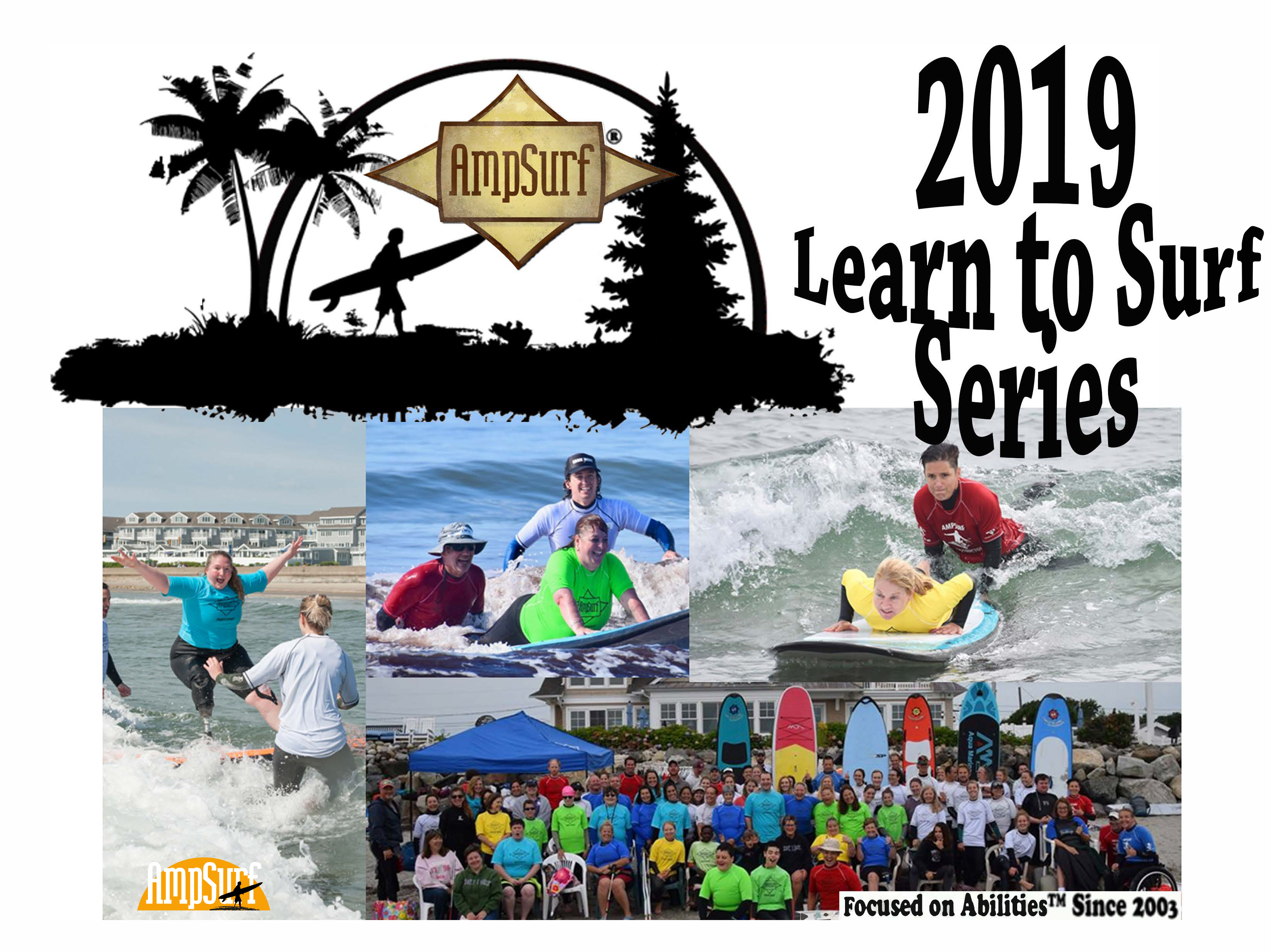 "Featured image for ""2019 Learn to Surf Series, Adaptive surfing clinic"""